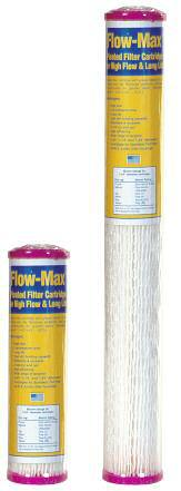 Flow-Max Pleated Cartridges